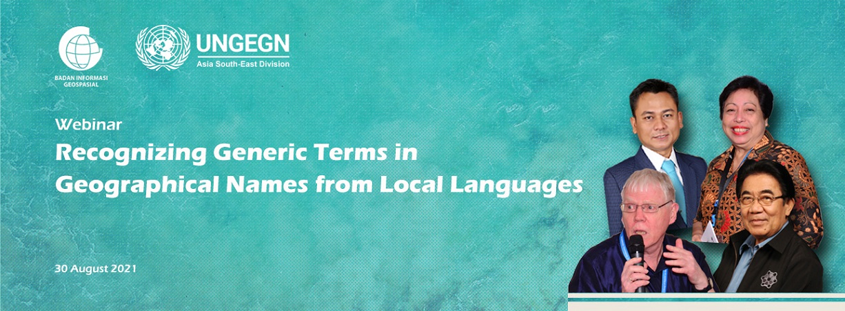 sertifikat Certificate of Recognizing Generic Terms in Geographical Names from Local Language Webinar
